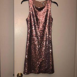 Sequin Pink Dress!
